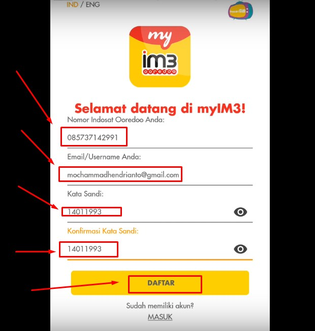 Cara Cek Masa Tenggang Indosat Pakai Aplikasi myIM3 Terbaru 2019 ii