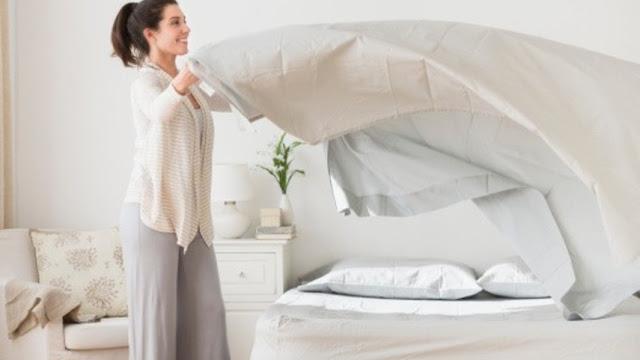 Ternyata Bahaya, Jika Bangun Tidur Langsung Membereskan Tempat Tidur