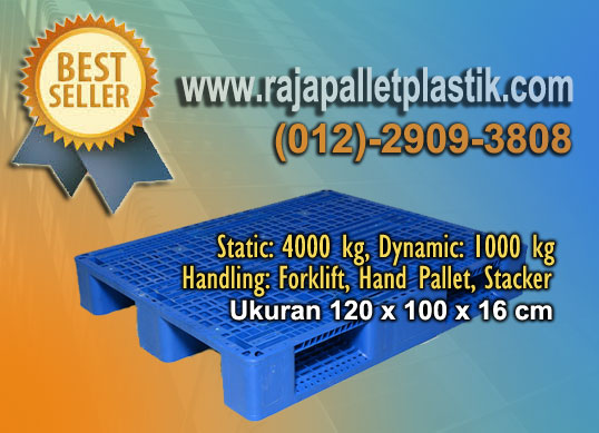 Pallet Plastik Pilihan Untuk Tatakan Racking Gudang