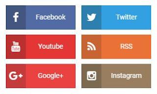Cara Memasang Link Media Sosial di Sidebar Blogger