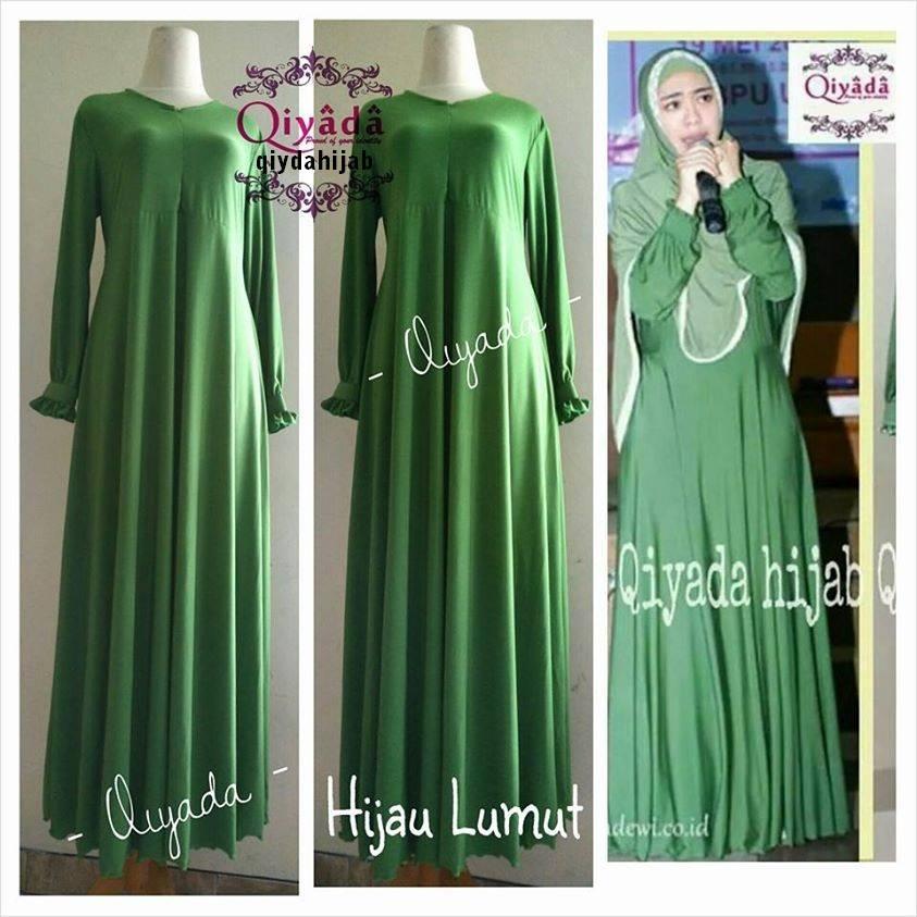 Model Busana Muslimah Gamis Oki Setiana Dewi By Qiyada Model