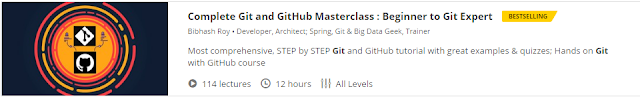 Complete Git and GitHub Masterclass : Beginner to Git Expert