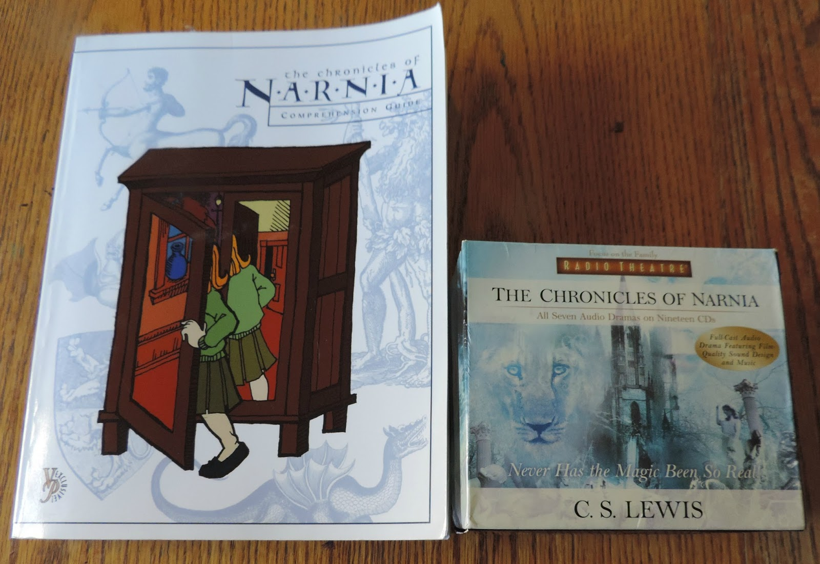 Our spine ~ Focus on the Family Radio Theater, The Chronicles of Narnia and  Veritas Press Comprehension guide