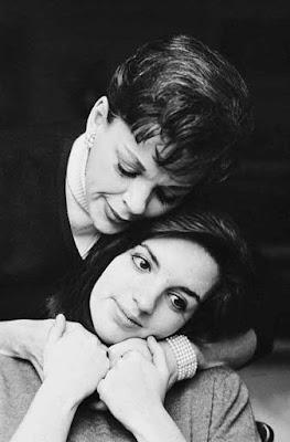 Judy con su hija Liza