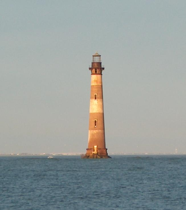 Vacation Rick: Morris Island Lighthouse-Once A Beacon Of