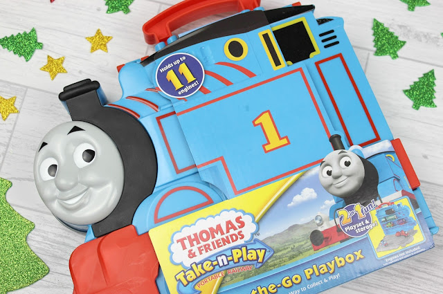 A review of Thomas & Friends Take-n-Play Train Carry Case