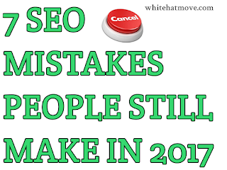 SEO Mistakes in 2017