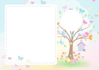 Jardín de Mariposas: Invitaciones para Bodas para Imprimir Gratis.
