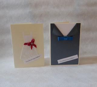 Zaproszenia Ślubne oraz Pierwszą Komunię Świętą , Kartki dla świadków.