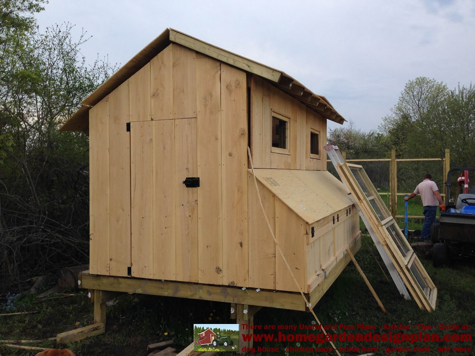 Shed Plans Building M200a Building Success Chicken Coop