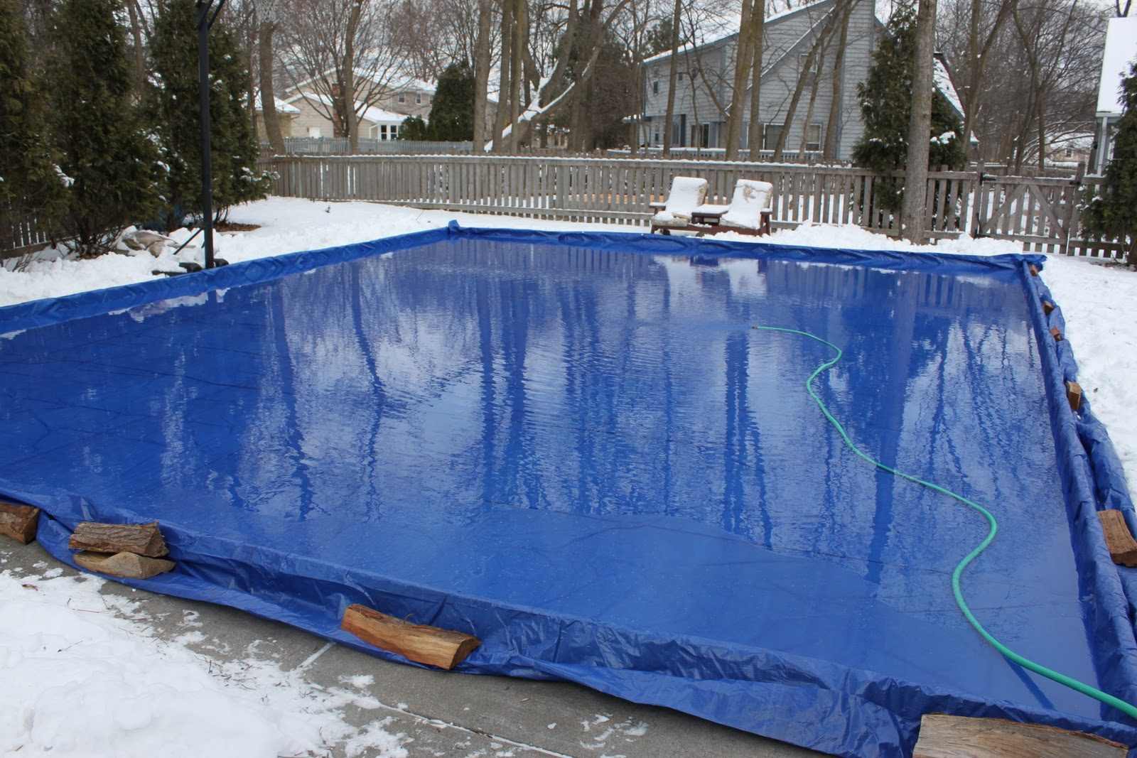 my best friend craig: OUR HOMEMADE ICE RINK IS BACK!