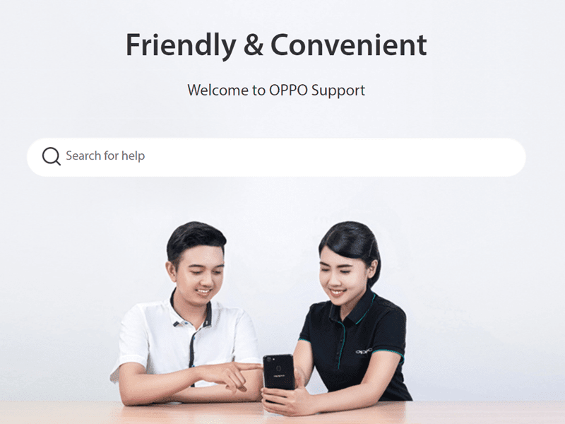 OPPO Philippines opens improved support page!