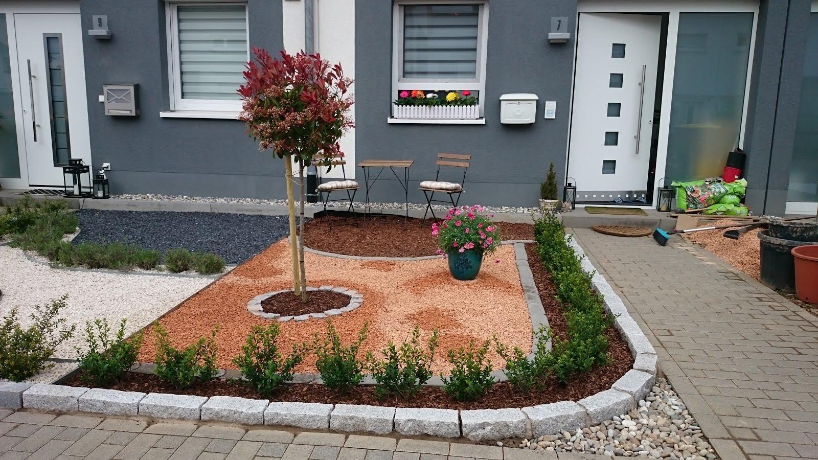 Rindenmulch Am Hang | Gartengestaltung Ideen Hang Minimalistische