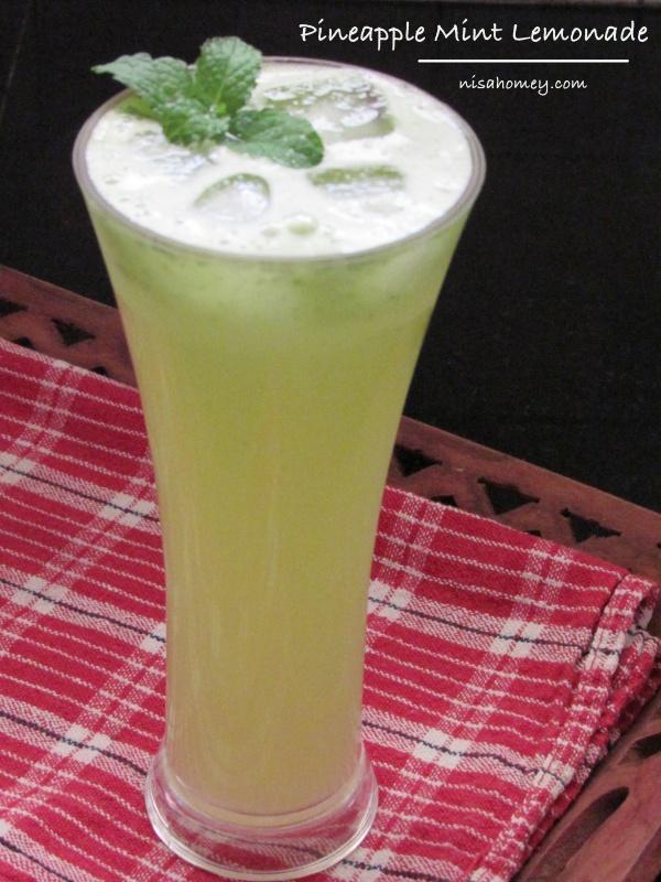 lemon mint juice recipe