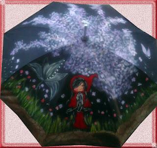 Si quieres un paraguas personalizado, ésta es tu tienda de moda y complementos customizados. Paraguas y abanicos pintados a mano.
