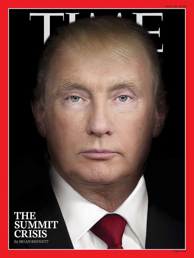 The Story Behind TIME's Trump and Putin 'Summit Crisis' Cover