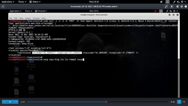 Melacak seseorang melalui MAC address dengan kali linux