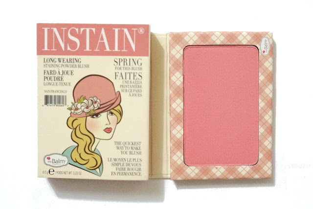 theBalm Instain Long-Wearing Powder Staining Blush in Argyle