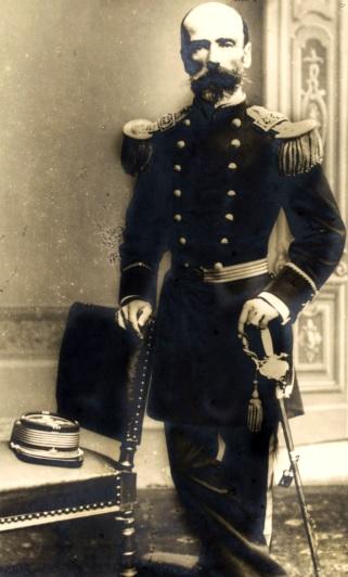 Retrato de Alejandro Gorostiaga Orrego sin gorro