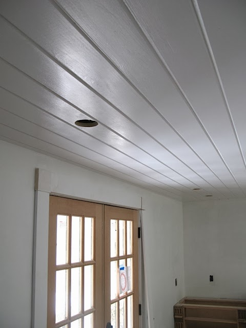 An Urban Cottage Kitchen Ceiling And Cabinet Paint Tests