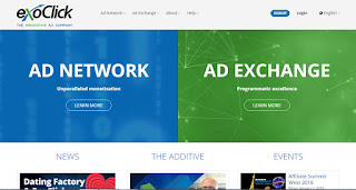 Exoclick ads review, network review, payment proof, earning report