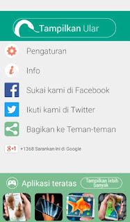 Tutorial Memunculkan Ular di Layar Android 1