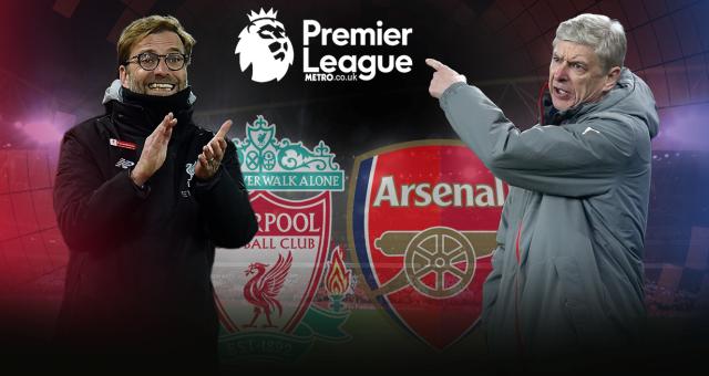 Susunan Pemain Liverpool vs Arsenal