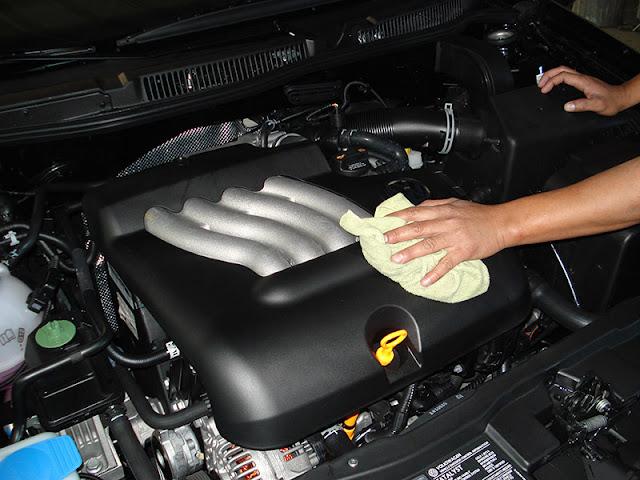 comment nettoyer un moteur de voiture