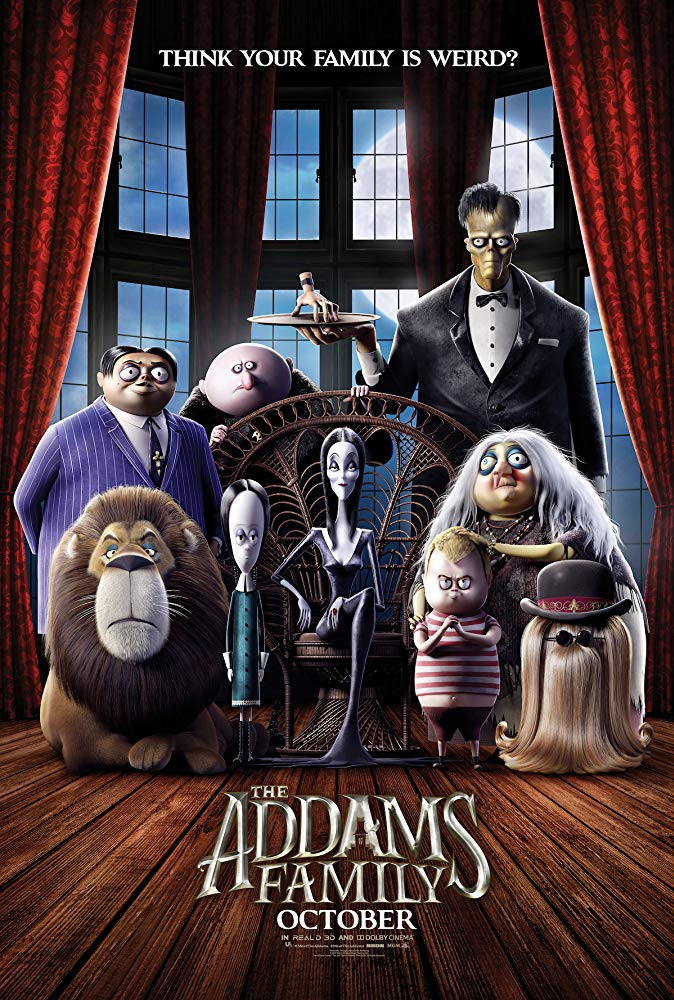 The Addams Family 2019 English 300MB HDRip Download
