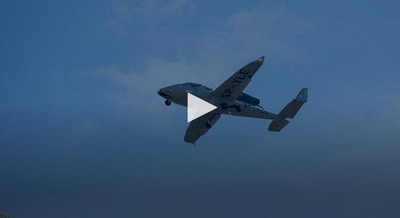 الطلعة الأولى لأصغر طائرة خاصة في العالم