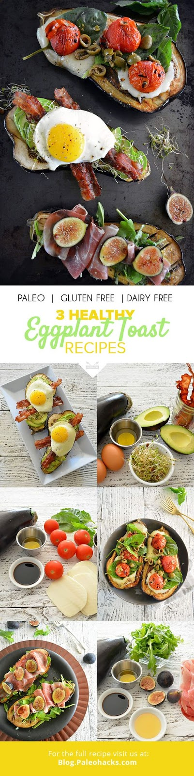 3 Healthy Eggplant Toast Recipes