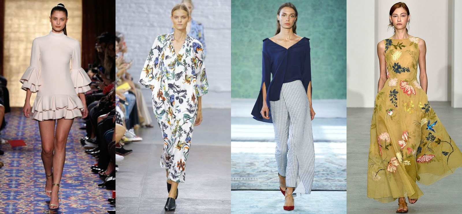 Spring/Summer 2017 Fashion Trends To Know