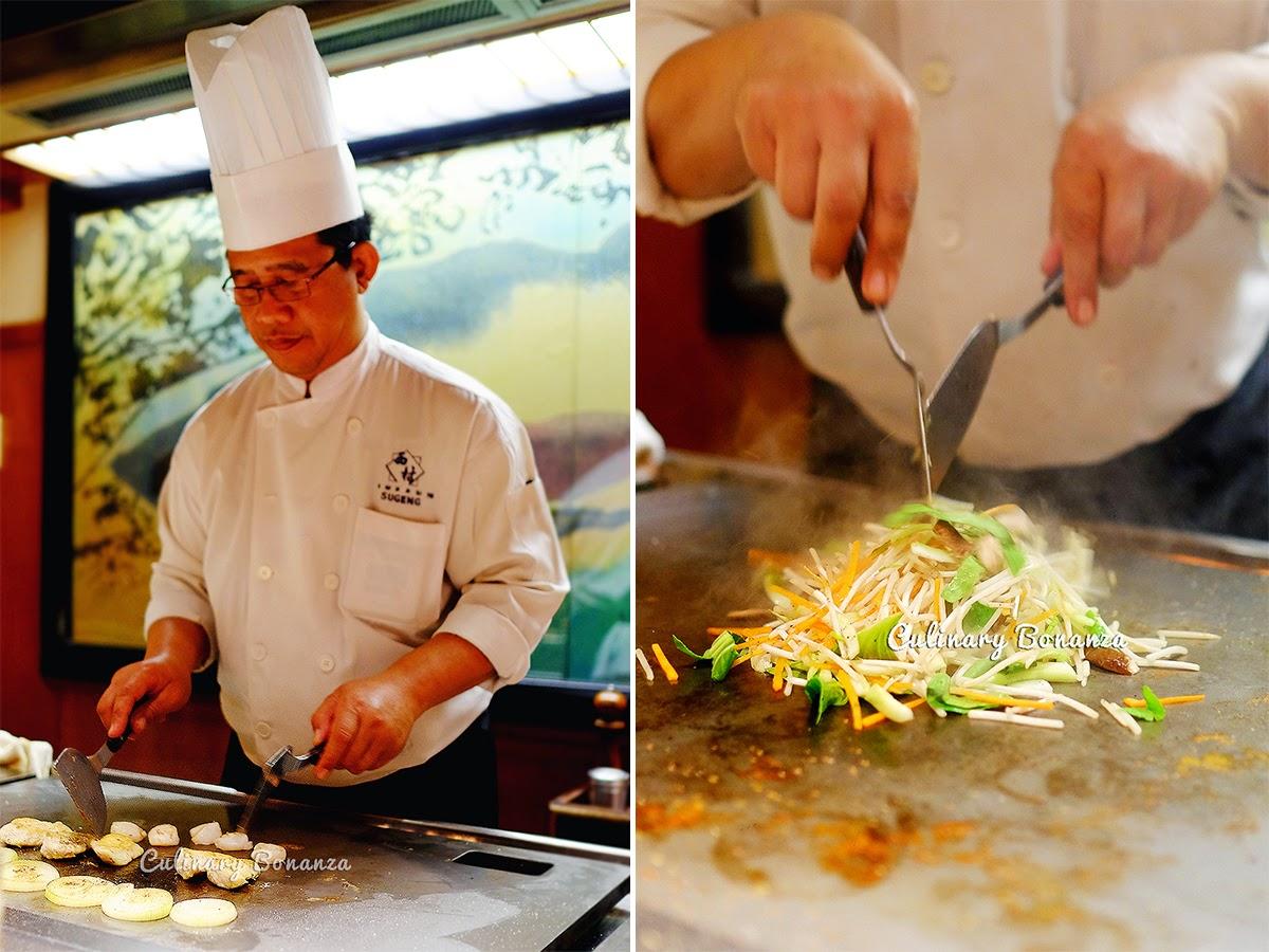 Teppanyaki Lunch at Nishimura
