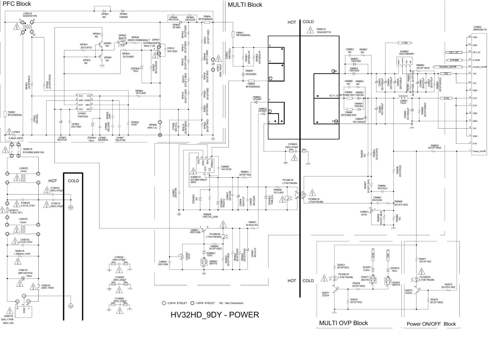Some mon samsung tv circuit diagrams | Learn Basic