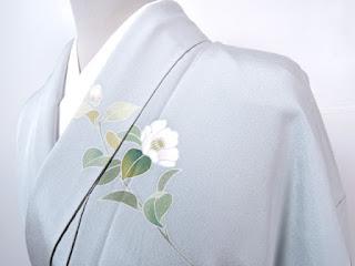 椿十徳の着物