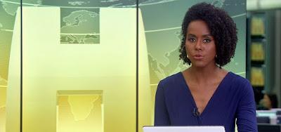 Maju Coutinho entrou ao vivo durante a exibição do Globo Esporte para noticiar demissão de secretário