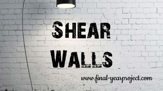 Civil Project on Shear Walls