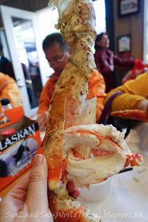 Tracy King Crab Shank, 朱諾阿拉斯加蟹腳