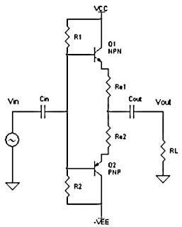 Series Class B Power Amplifier