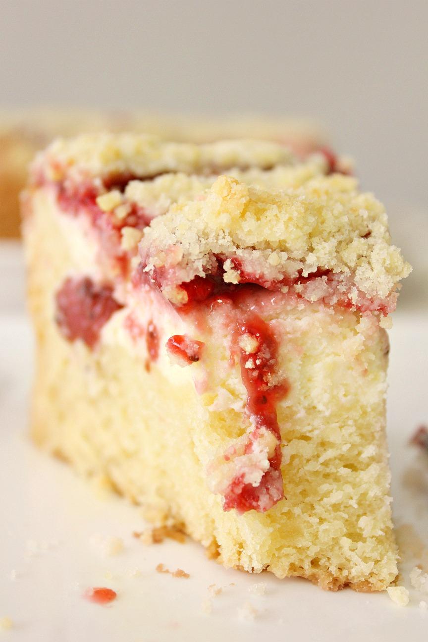 Food Wanderings Strawberry Cream Cheese Coffee Cake