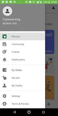 Gidimo App UI