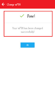 how to change mpin in airtel app