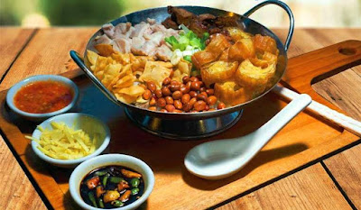 signature dish berupa bubur goreng di Heather Restoran
