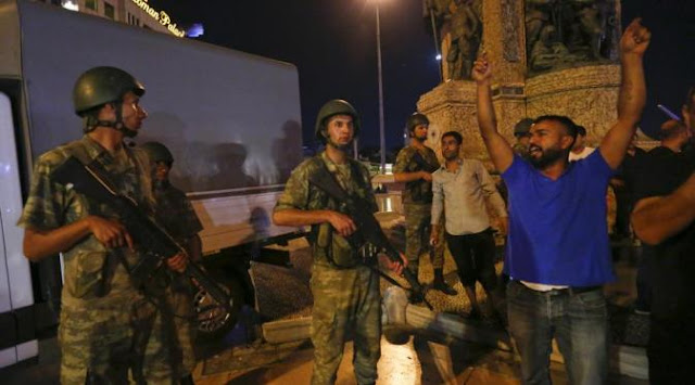 Aksi Kudeta, Jenderal Senior dan Sejumlah Perwira Militer Turki Ditawan