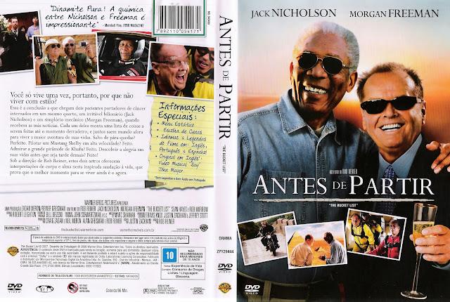Capa DVD Antes de Partir