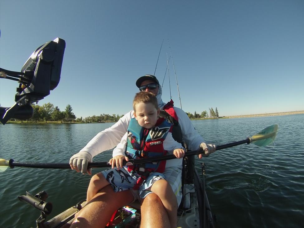 Headwaters fishing team kayak bass fishing at rancho seco for Rancho seco fishing