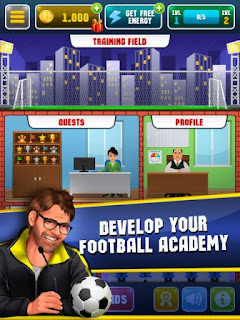 Game Manager Sepak Bola Terbaik Android dan IOS - football academy