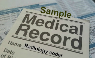 Learn Radiology coding with sample charts