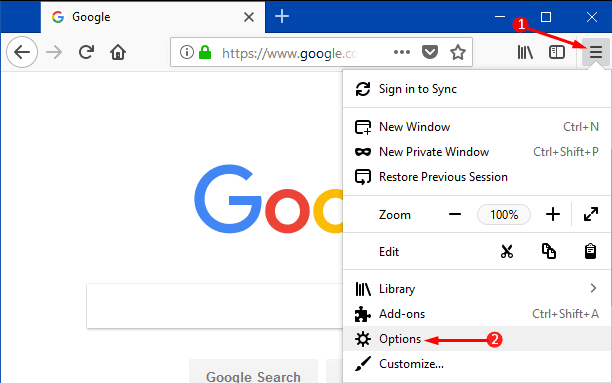 Methods to Turn On or Off Stand-alone Search Bar to Toolbar in Firefox