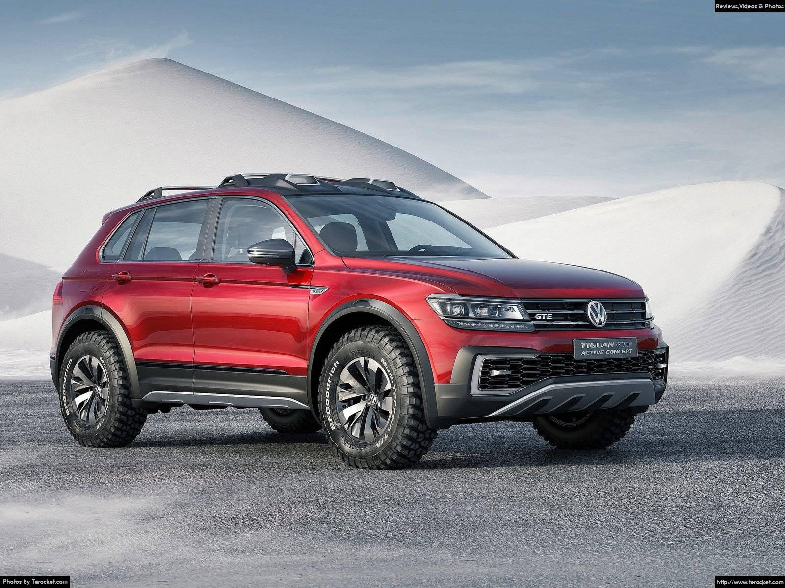 Hình ảnh xe ô tô Volkswagen Tiguan GTE Active Concept 2016 & nội ngoại thất
